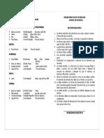 GUIA DE  INFANTE DE 1  A 5 AÑOS SOBRE  PESO