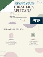 HIDRAULICA APLICADA SESION 2