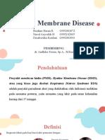 Hyaline Membrane Disease - Ibrahim, Nurul, Dinabestika