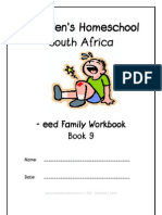 eed End-Word Family Workbook, Donnette E Davis, St Aiden's Homeschool, South Africa