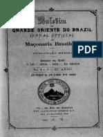 Edição Jornal Oficial - 1896