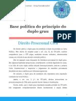 Base Política Do Princípio Do Duplo Grau