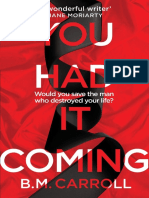 You Had It Coming Chapter Sampler