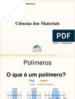 Aula sobre polímeros