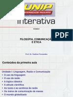 sld_1_Filosofia, Comunicação e Ética
