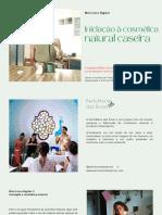 Iniciação à cosmética natural caseira - Franciele Rayane Rodrigues