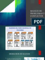 MANEJO DE PROBLEMAS Y CONFLICTOS
