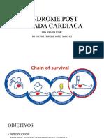 Sindrome Post Parada Cardiaca