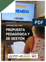 GRADE AeC Propuesta pedagógica y de gestión