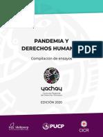 Ensayos Yachay 2020 Pandemia y Derechos Humanos