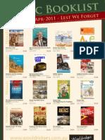 Anzac Booklist