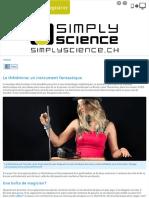 le thérémine_ un instrument fantastique - simplyscience