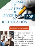 JUSTITIFICACIÓN Y OBJETIVOS