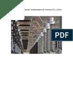 Aparamenta de Subestación, transformadores de corriente - P2
