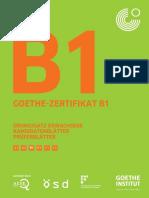 Goethe-zertifikat b1 Ubungssatz Erwachse