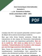 séances cours REI-2021