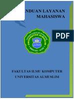 PANDUAN LAYANAN MAHASISWA FIKOM 1