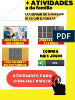 JOGOS + ATIVIDADES - DIA DA FAMÍLIA