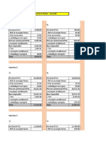 Correctif - exercice sur le calcul de la facture