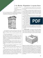 eBook - Apiculture - Constructionde La Ruche Populaire a Rayons Fixes - Warre Emile