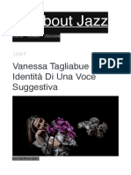 Vanessa Tagliabue Yorke identità di una voce suggestiva