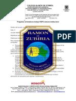 documento orientador aporte rgps semana institucional