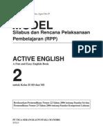 Silabus & RPP SD Bahasa Inggris 2