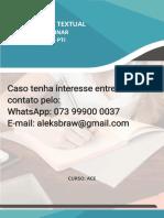 1º Semestre Ace 2021 - Produção Textual Interdisciplinar - o Caso de Duas Empresas de Construção Civil