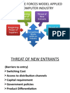 pest poter analysis of state Porter's five forces 1 business framework porter's five forces developed by michael porter, porter's five forces is a classic business framework for evaluating the attractiveness of a particular industry by analyzing 5 forces.