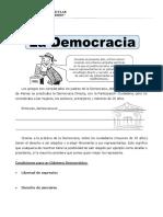 Ficha Que Es Democracia