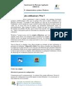 Doc-Support-1-TP1-Gérer Les Comptes Utilisateurs Win 7