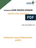 Sémiologie Radio Digestive 2013