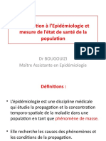 Introduction à l'Epidémiologie
