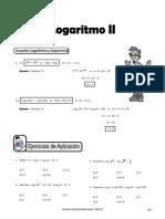 IV BIM - 4to. Año - ALG - Guía 7 - Logaritmo II