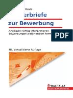 MUSTERBRIEFE ZUR BEWERBUNG_ ANZEIGEN RICHTIG INTERPRETIEREN, BEWERBUNGEN ZIELORIENTIERT FORMULIEREN, 18. AUFLAGE