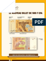 Affiche Billet 500