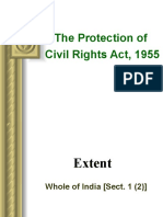 Protection of Civil Rights Act 1955