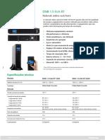 DNB 1.5 kVA RT - Datasheet