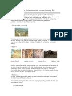 Gejala Diatropisme, vulkanisme, dan pemnyebaran gunung api