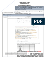 ACTIVIDADES DEL PROYECTO 7 SEMANA 2  CUARTO B