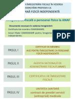Procedura Inregistrare Persoana Fizica Independenta Update Martie 2021 2