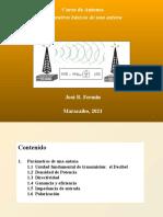 Parametros básicos de una Antena