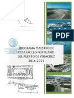 Programa Maestro de Desarrollo del Puerto de Veracruz-2016-2021