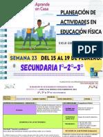 1°, 2° y 3° Secundaria EF Semana 23-LEF Antonio Preza