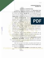 Sentencia Derechos Registrales Coahuila 2021