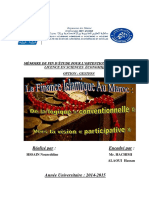 [MFE] Finance Islamique, Conventionnelle Vers Participative (1)