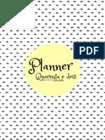 Planner-Gestante
