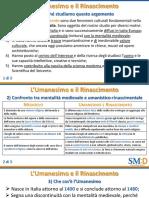 STO_47  _Umanesimo e Rinascimento_L'unità in sintesi_Compatta