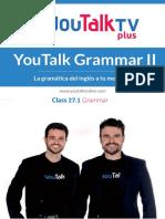 Class-27.1-Grammar