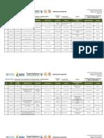 Servicios Vigentes - Inscritas en El Registro de Productores y Comerciantes -Mayo